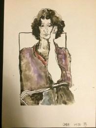 Gabi Aigner, gezeichnet von Marlies Breier (1979/1980)