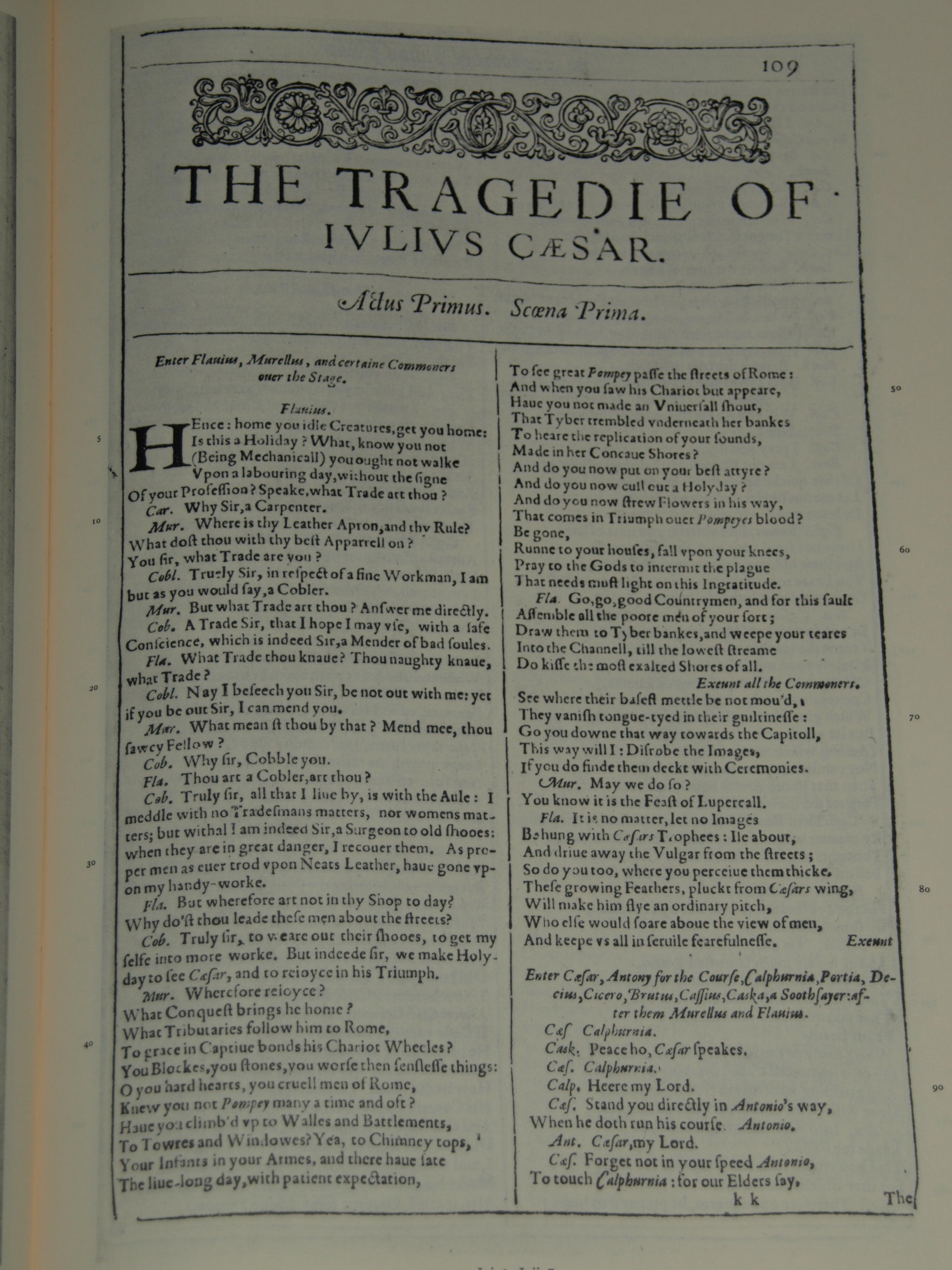 Jv Rhetorical Devices In Antony S Funerary Speech From Shakespeare S Julius Caesar