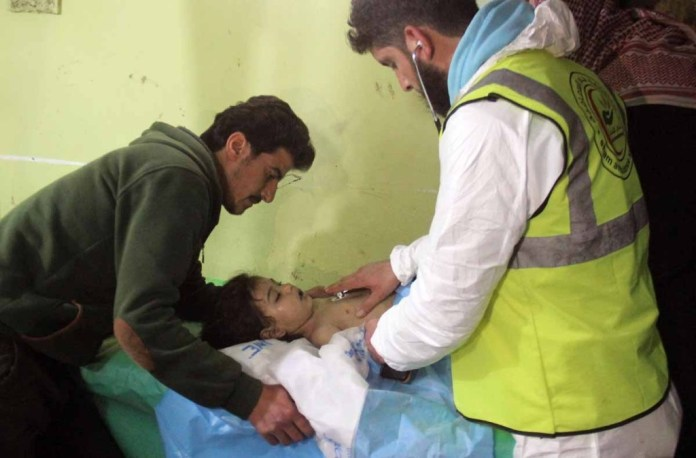 SYRIA CHEMICAL ATTACK 12 04-04-17