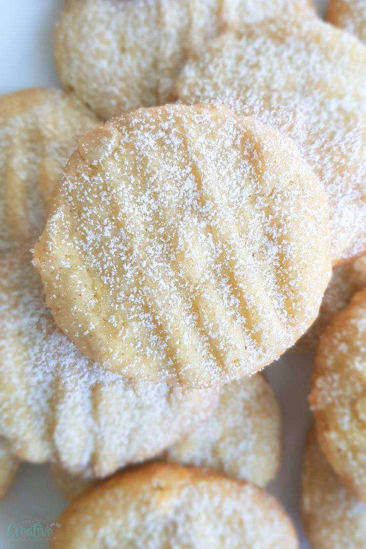 Soft lemon cookies