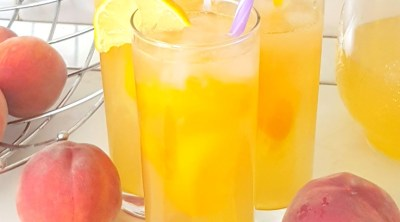 How to make peach lemonade