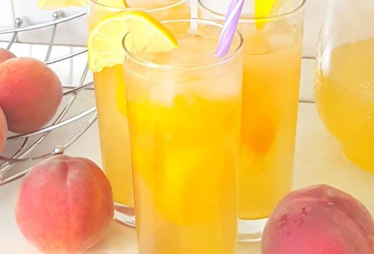 How to make peach lemonade