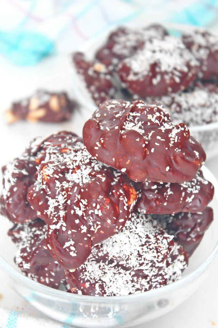 Chocolate covered peanuts recipe