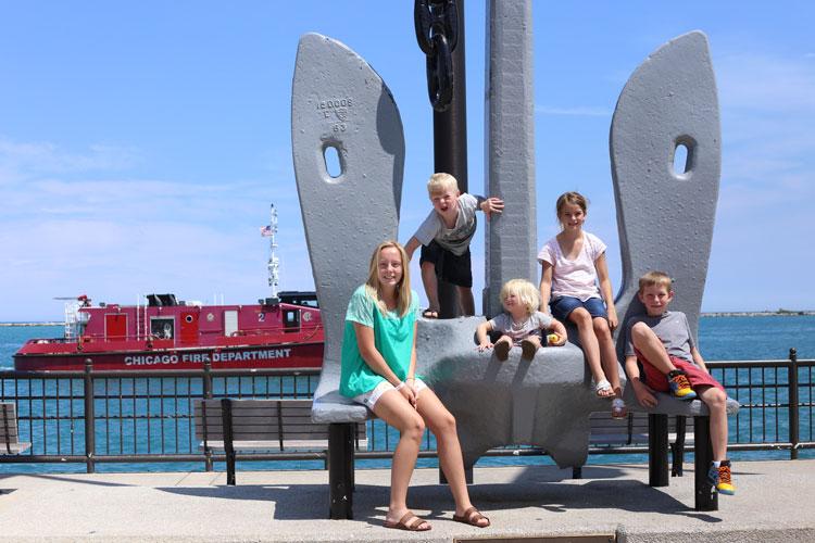 Chicago Fire Department Navy Pier