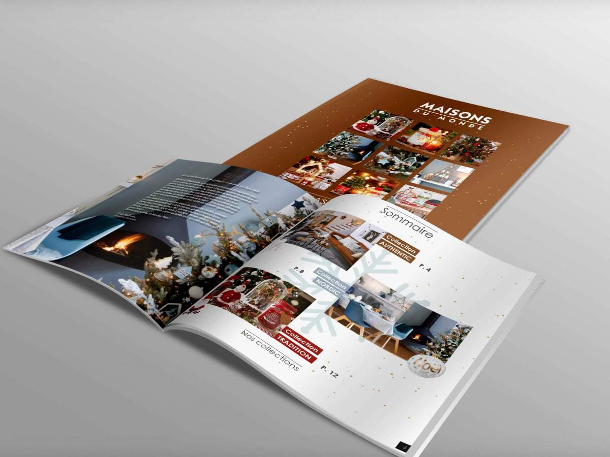 Projet fictif - Catalogue Maisons du Monde