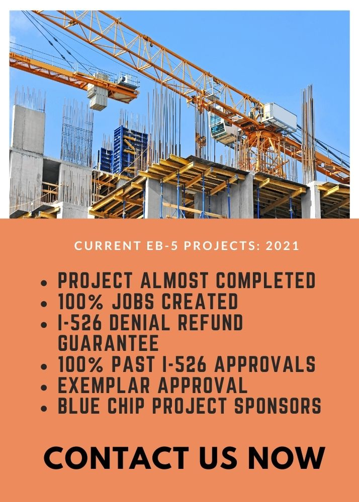 021 EB5 current investment projects