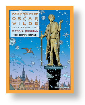 Fairy Tales Of Oscar Wilde Vol 5 The Happy Prince cover