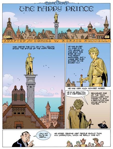 Fairy Tales Of Oscar Wilde Vol 5 The Happy Prince interior 1