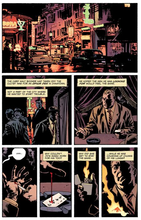 Fatale Book One Death Chases Me interior 1