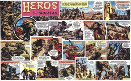 Heros The Spartan interior 3