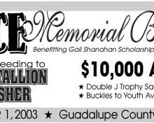 2nd Annual G-Force Memorial Barrel Classic