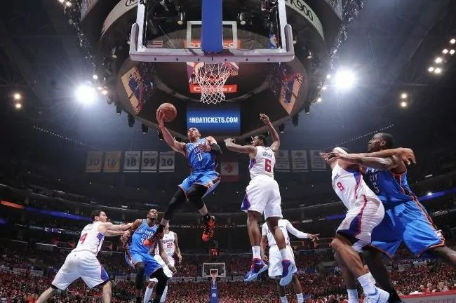 russel westbrook-thunder-clippers