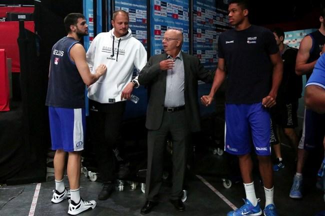 Nesterovic-Vasilakopoulos-Eurobasket-Proponisi-Greece-Hellas-Slovenia