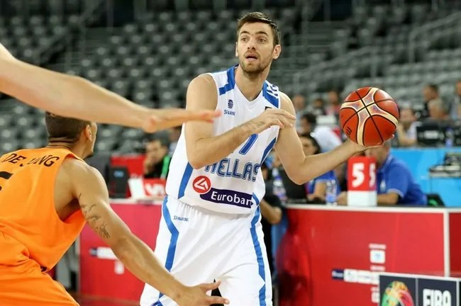Vaggelis Mantzaris-Eurobasket-Greece-Hellas-Holland-Netherlands