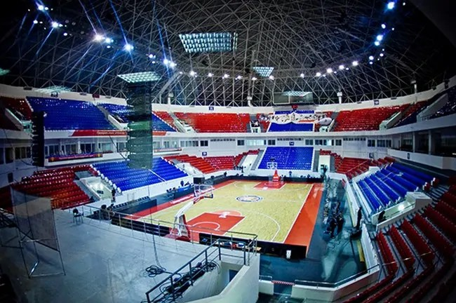 Basket-Hall-Locomotiv Kuban