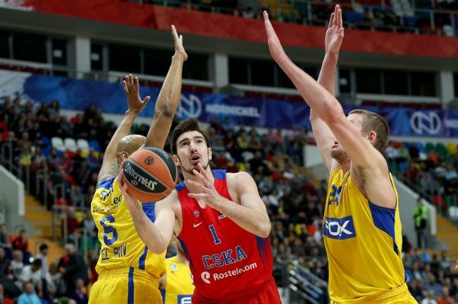 csska moscow-macabi tel aviv-euroleague