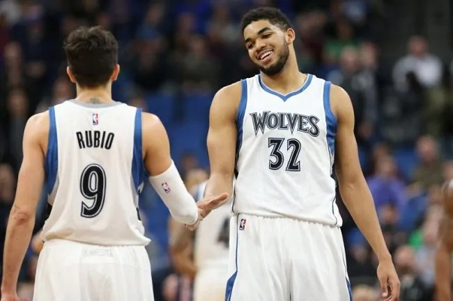 karl-anthony-towns-ricky-rubio-minnesota