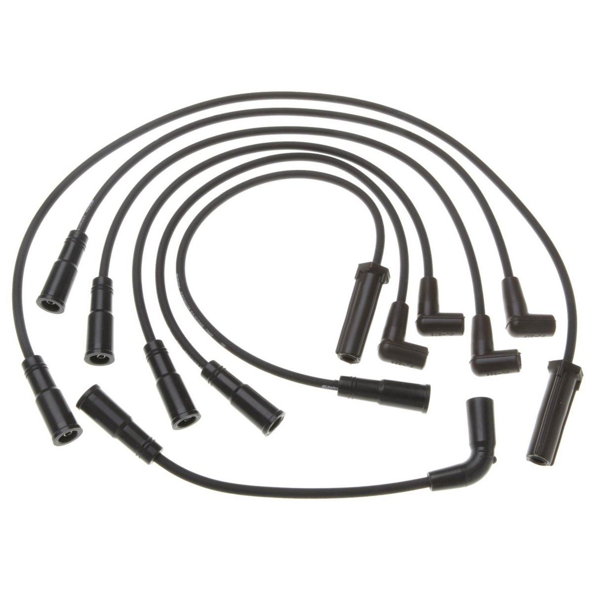 Ac Delco Set Of 6 Spark Plug Wires New Chevy S10 Pickup