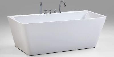 Modern Freistehende Badewanne Sylt mit Armatur Badezimmer ...