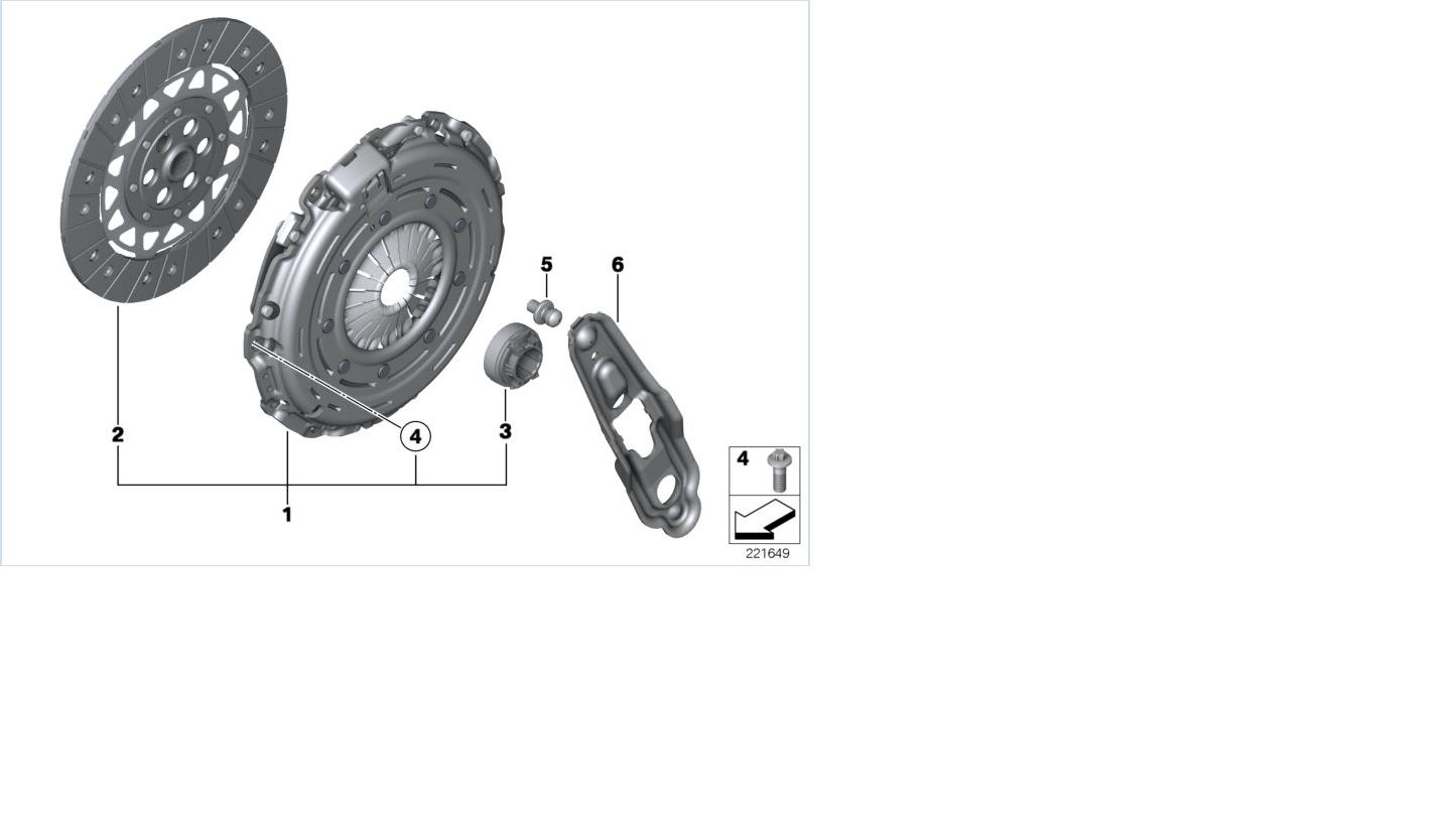 Mini Oem 07 12 Cooper Clutch Pressure Plate