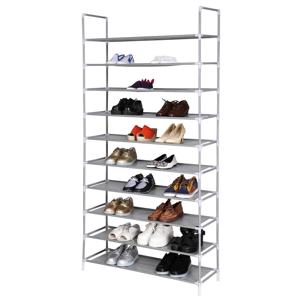 Home Portable 5 8 10 Tier Shoes Rack Stand Shelf Shoes