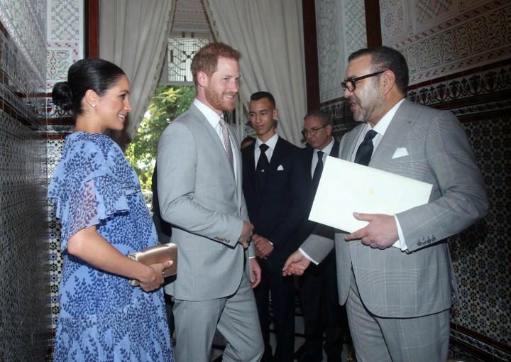 Morocco Britain Royals