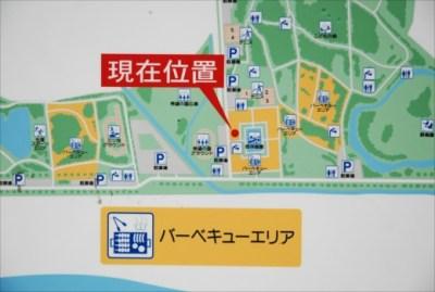秋ヶ瀬公園 園内マップ