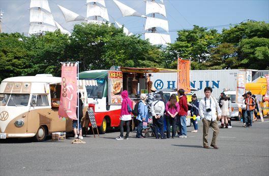 晴海ふ頭公園 BBQレンタル (2)