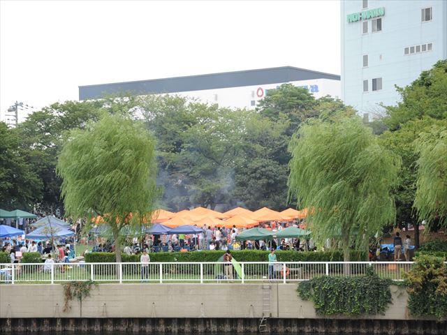 新木場ふ頭公園 BBQ
