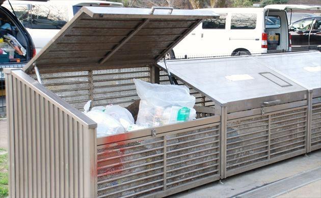 和田堀公園 ゴミ捨て場