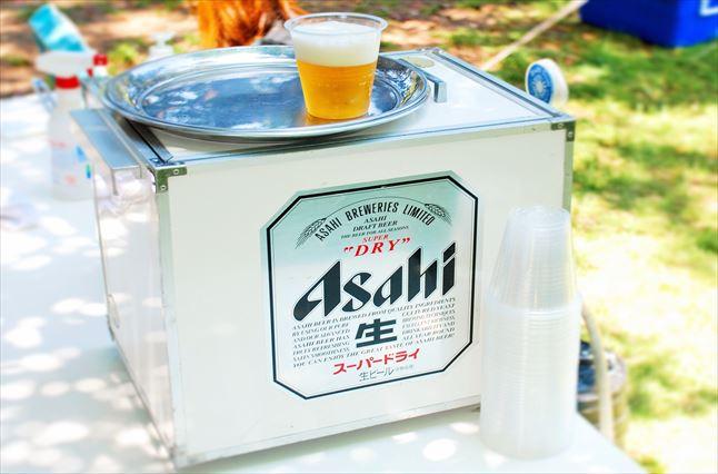 大井埠頭中央海浜公園BBQ場 ビールサーバー