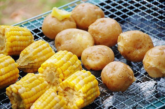 郷土の森 BBQ場 食材