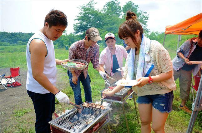 府中郷土の森BBQ レンタル