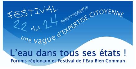 Forums régionaux et festival de l'eau