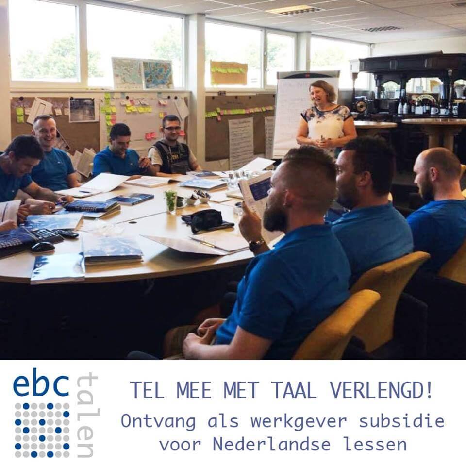 Ontvang subsidie voor Nederlandse lessen!