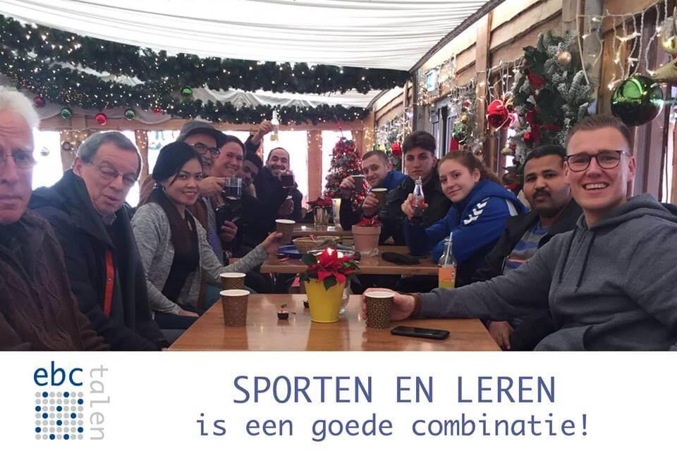 Sportieve samenwerking!