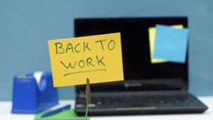 Call Center Work After Long Break
