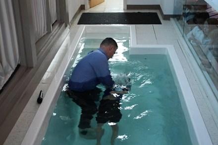 Kyle Baptism 2