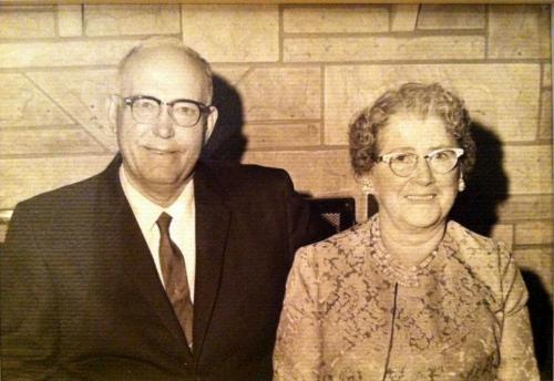 Grandpa & Grandma Ray
