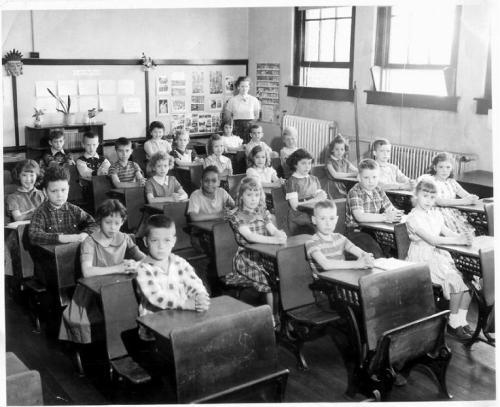 Mrs.Maxwell's 1955/1956 Third Grade Class - Warren Elementary - Terre Haute, IN