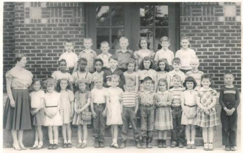 Barbara Boyle's 3B Class - Warren Elementary - 1955-56