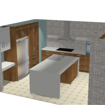 Claudia Kitchen 3d plan