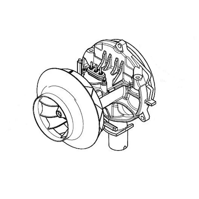 Eberspacher M2D4L blower motor 12v