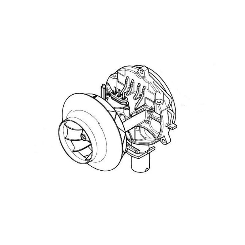 Eberspacher Airtronic M2D4L blower motor 24v