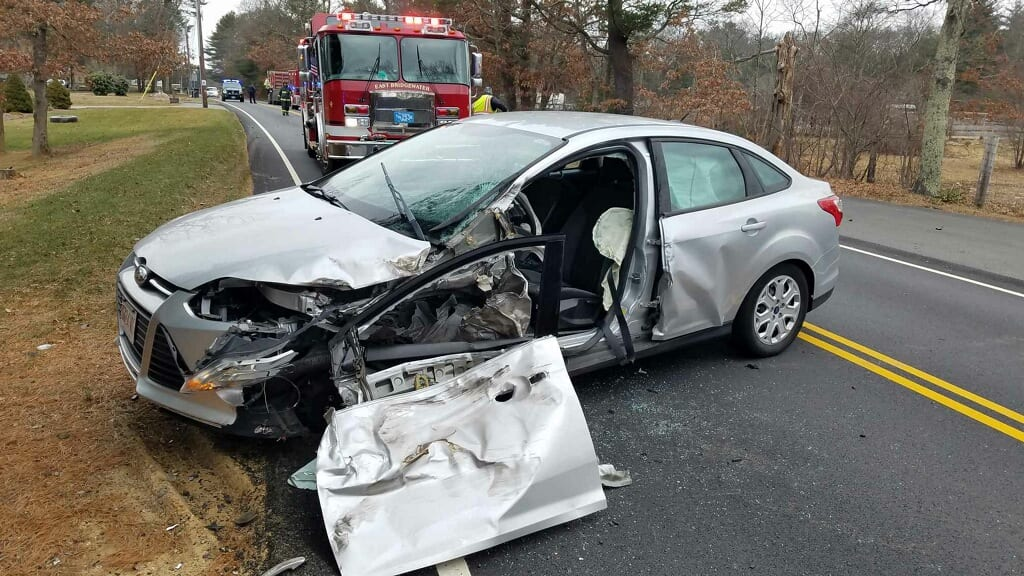 East Bridgewater Police and Fire Respond to Crash Involving