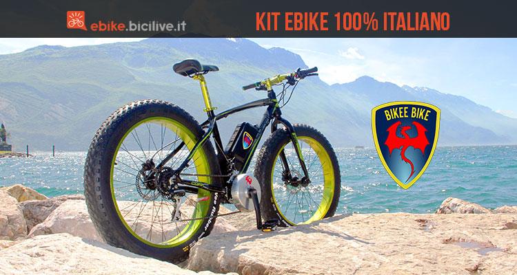 Bikee Bike Kit Di Trasformazione Bicicletta In Elettrica