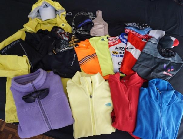 Rachel's Cycling Clothes