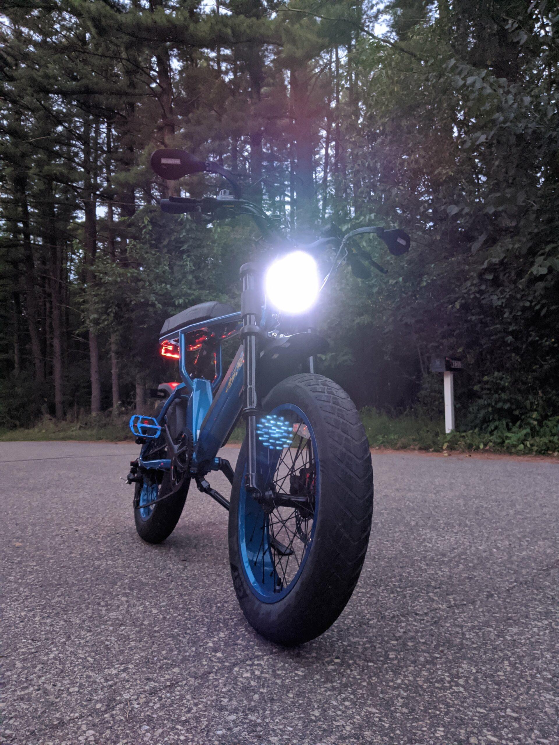 Ariel Rider X-Class Front light