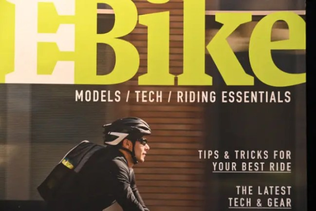 Cover of a book ebike models tech and riding essentials book review ebike lovers