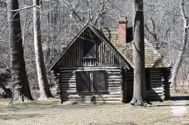 Joaquin Miller's cabin in Rock Creek Park near Beach Drive